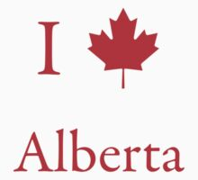 I Love Alberta by Scott Ruhs