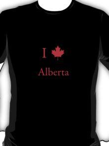 I Love Alberta T-Shirt