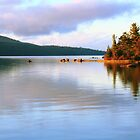 Eagle Lake, Acadia National Park by Roupen  Baker