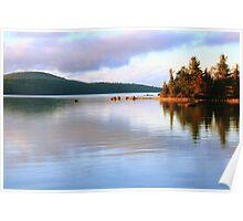 Eagle Lake, Acadia National Park Poster
