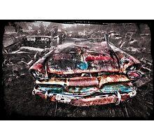 smash palace wreck  Photographic Print