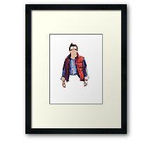Morty McFly Framed Print