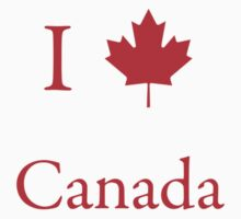 I Love Canada by Scott Ruhs