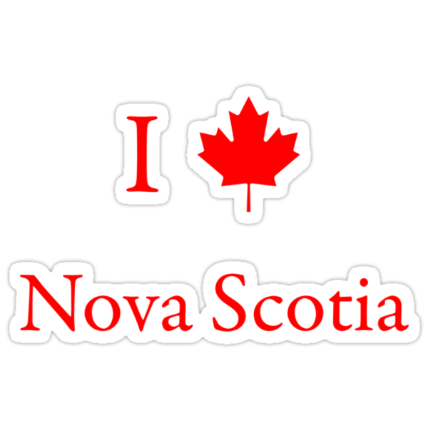 I Love Nova Scotia by Scott Ruhs
