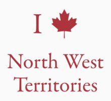 I Love North West Territories by Scott Ruhs