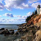 Bass Harbor Head Lighthouse by Roupen  Baker