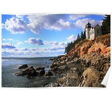 Bass Harbor Head Lighthouse Poster