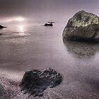 sunrise lake taupo  by pieter van der walt