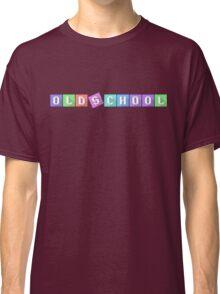 Old School Arcade Text Classic T-Shirt
