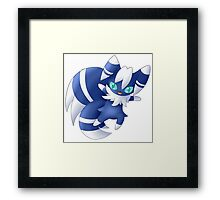 Meowstic Framed Print