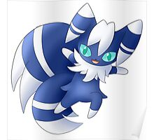 Meowstic Poster