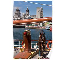 Liverpool Festival of Sail Poster