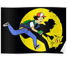 Tintin Ketchum Poster