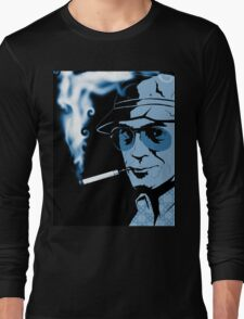 Hunter S Thompson Gonzo Long Sleeve T-Shirt