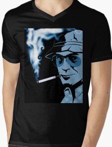 Hunter S Thompson Gonzo Mens V-Neck T-Shirt
