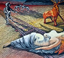 DAMSEL IN DISTRESS by Larry Butterworth