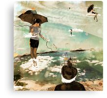 CloudWalkers-One Canvas Print