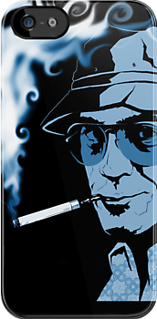 Hunter S Thompson Gonzo by erikrose