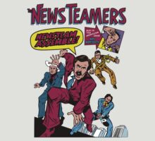 News Team Assemble! T-Shirt