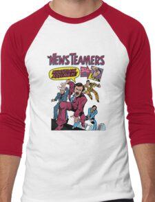 News Team Assemble! Men's Baseball ¾ T-Shirt