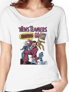 News Team Assemble! Women's Relaxed Fit T-Shirt