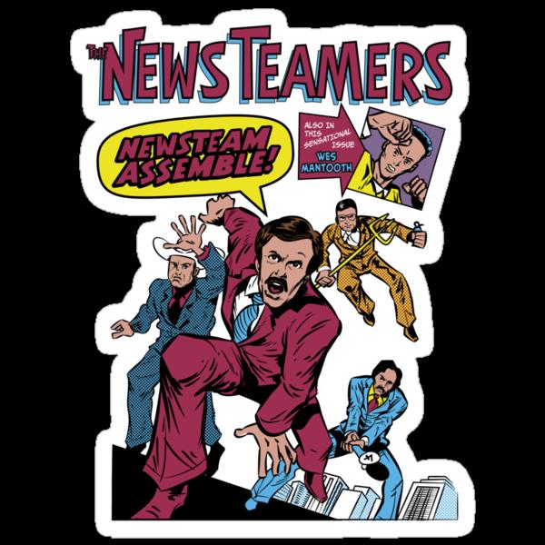 News Team Assemble! by nikholmes