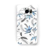 Blue flowers in my bed Samsung Galaxy Case/Skin