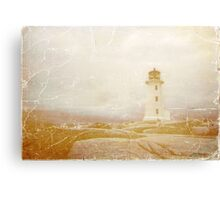 Postcard from Nova Scotia Canvas Print