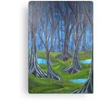 Dark Woods Are Calling Canvas Print
