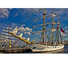 The Dewaruci and Cuauhtémoc Photographic Print