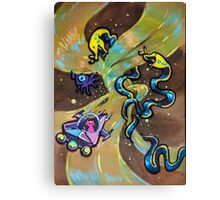 Space Cat: Voyage! Canvas Print