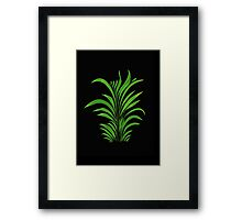 ornament grass Framed Print