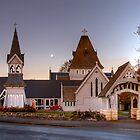 St Augustine's Church, Waimate by Christine Smith