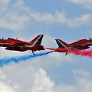 RAF Red Arrows Cross by merlin676