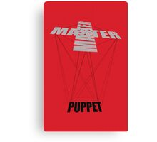 Puppet Master Canvas Print