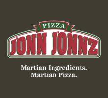 Martian Manhunter Pizza by Blayde