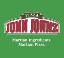 Martian Manhunter Pizza Kids Clothes