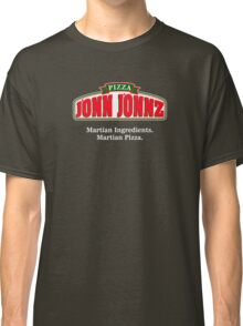 Martian Manhunter Pizza Classic T-Shirt