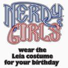 Nerdy Girls 009 - Leia by Lee Edward McIlmoyle