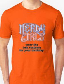 Nerdy Girls 009 - Leia T-Shirt