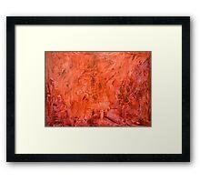 Recalescent Framed Print