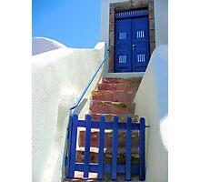 Oia Greece Photographic Print