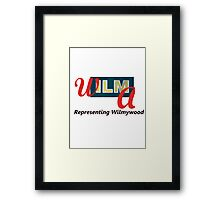 Wilmywood Framed Print
