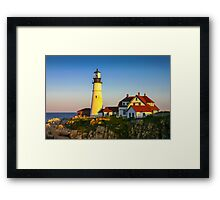 Portland Head Lighthouse, Maine, USA Framed Print
