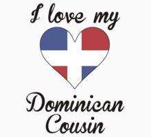I Love My Dominican Cousin Kids Tee