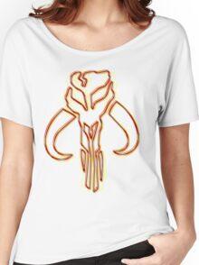 Bounty Hunter Emblem (Acid Scheme) Women's Relaxed Fit T-Shirt