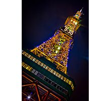 Sapporo TV Tower 9:30 Photographic Print