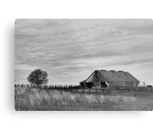 Prairie Farm Metal Print