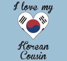 I Love My Korean Cousin Kids Tee