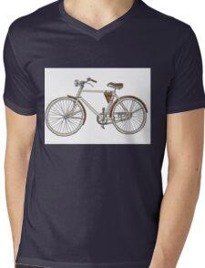vintage bicycle Mens V-Neck T-Shirt